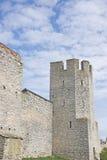 堡垒塔在Visby瑞典 库存图片