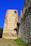 老堡垒墙壁,维罗纳,意大利 免版税库存照片