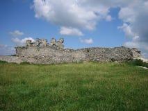 老堡垒废墟 图库摄影