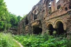 老堡垒的废墟 免版税库存照片