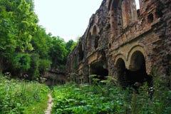 老堡垒的废墟 库存照片