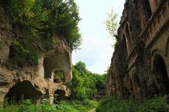 老堡垒的废墟 免版税库存图片