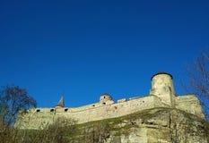 老堡垒, Kamenets波多尔斯基,乌克兰 免版税图库摄影