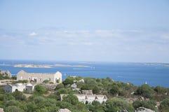 老堡垒nord撒丁岛 免版税库存照片