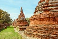 老塔在泰国 库存照片