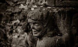 老墓地,辛尼克,比利时 库存照片