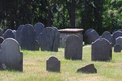 老墓地 图库摄影