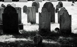 老墓地 库存图片