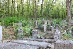 老墓地 免版税图库摄影