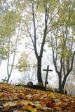 老墓地 免版税库存图片
