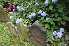 老墓碑,领港教会,纽约 免版税库存照片