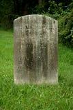 老墓碑 免版税库存照片