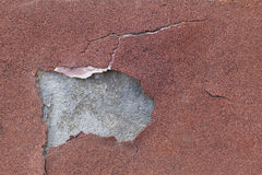 老墙壁剥落的膏药 免版税库存图片