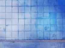 老墙壁方形的样式摘要背景 免版税库存照片