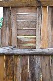 老墙壁木头 免版税图库摄影