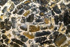 老墙壁由石头制成 库存图片