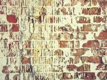 老墙壁 困厄的年迈的覆盖物纹理 自然背景的grunge 免版税库存图片