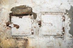 老墙壁 图库摄影