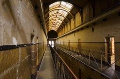 老墨尔本监狱 免版税库存图片