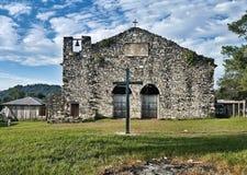 老墨西哥教会 免版税库存图片