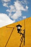 老墨西哥路灯柱 库存图片