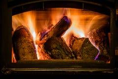 老壁炉 免版税图库摄影