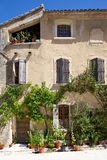 老外部法国房子 库存图片