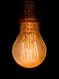 老多灰尘的电灯泡 库存图片