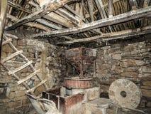老多灰尘的磨房 免版税库存照片