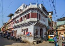 老大厦在乔德普尔城,印度 免版税图库摄影