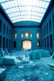 老大厦在伊朗 免版税库存照片