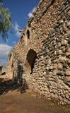 老大厦在利马索尔附近的Kolossi 塞浦路斯 免版税库存图片