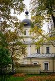 老大厦在圣彼得堡,俄罗斯 库存图片