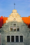 老大厦在塔林 免版税库存图片