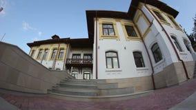 老大厦在多布罗加罗马尼亚 影视素材