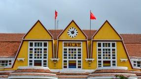 老大厦在大叻,越南 免版税图库摄影