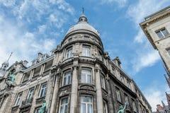 老大厦在安特卫普,比利时的中心 库存照片