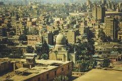 老大厦在开罗,埃及 免版税库存照片