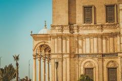 老大厦在开罗,埃及 免版税库存图片
