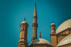 老大厦在开罗 免版税库存图片