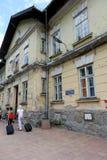 老大厦在扎科帕内,波兰 库存照片