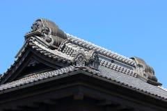 老大厦在日本 库存图片
