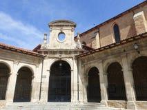 老大厦在梅迪纳德波马尔,西班牙 图库摄影