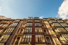 老大厦在毕尔巴鄂 免版税库存照片
