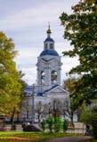 老大厦在维堡,俄罗斯 免版税库存图片