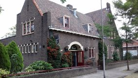 老大厦在荷兰 库存图片