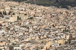 老大厦在菲斯,摩洛哥 库存图片