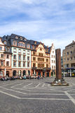老大厦在主要市场地方在美因法 图库摄影