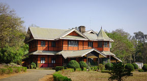 老大厦在Pyin Oo Lwin,缅甸 图库摄影