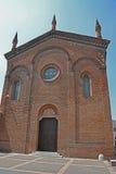 老大厦的教会 免版税图库摄影